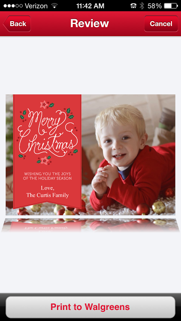 holiday photo cards with the walgreensapp the samantha show a