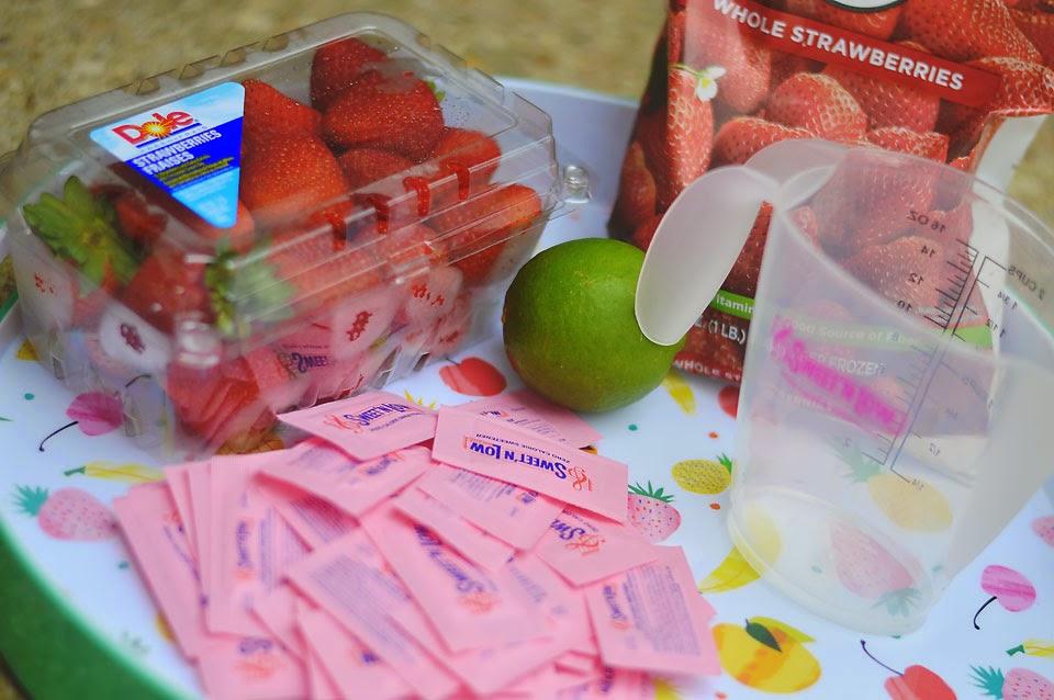 frozen daiquiri #SweetNLowStars