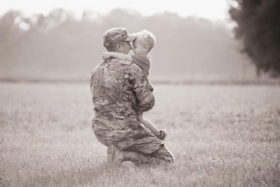 Military deployments and navigating motherhood during them.