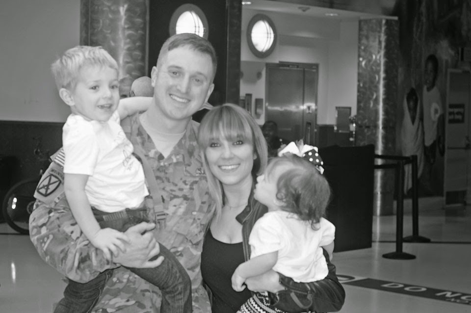 Tips and tricks for navigating motherhood when your spouse is deployed.