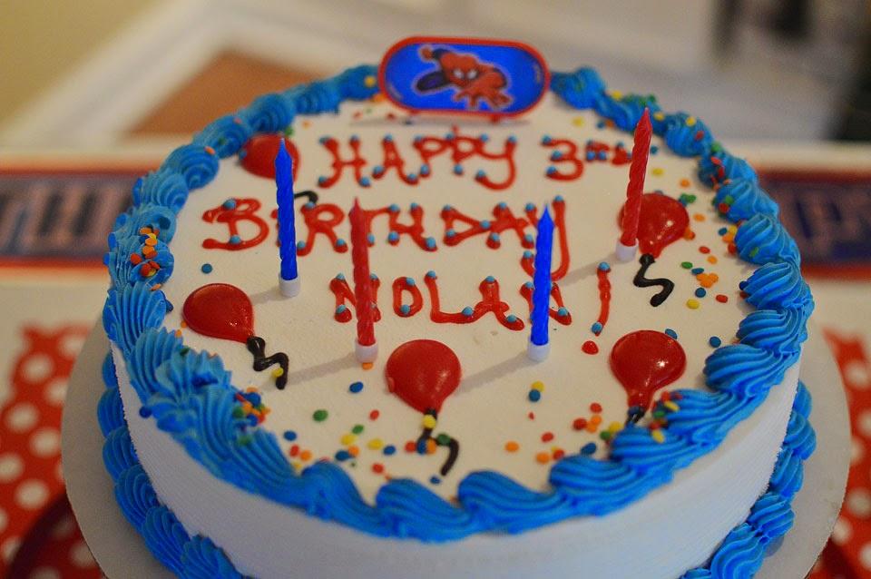 My Spidey Mans Birthday Celebrations The Samantha Show A