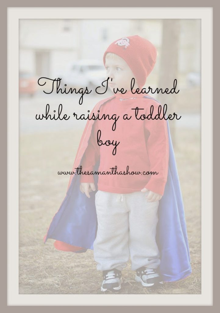 raising a toddler boy