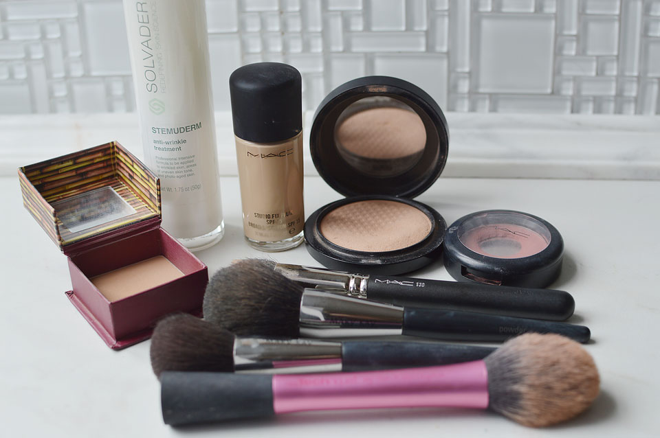 simple morning makeup routine