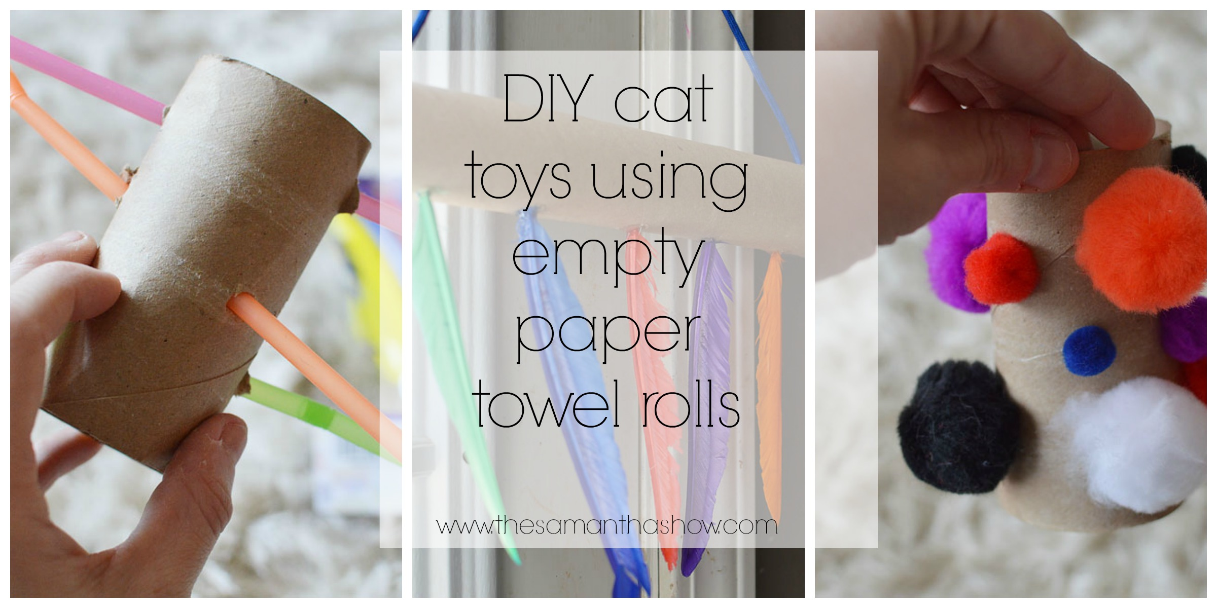 Cat And Dog Toys Diy