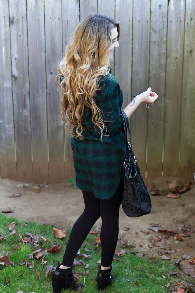 loft plaid tunic 11