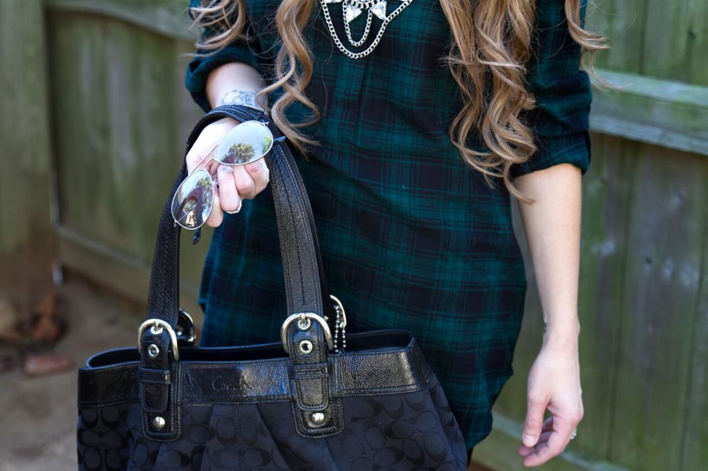loft plaid tunic 6