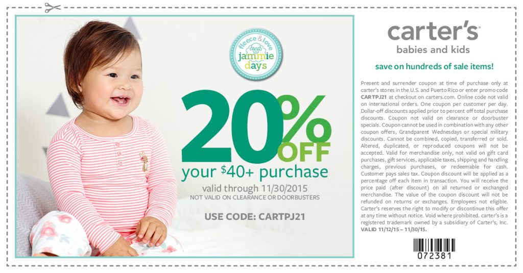 thesamanthashow carters_PJ_Blogger_Coupon_072381