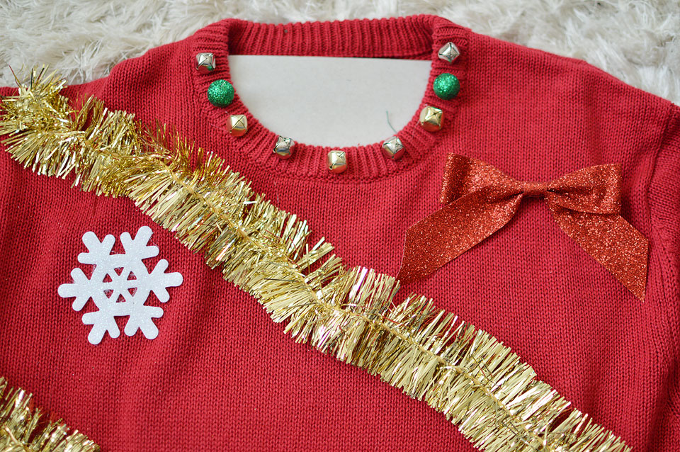 want to win the ugly christmas sweater party at the office just want to get