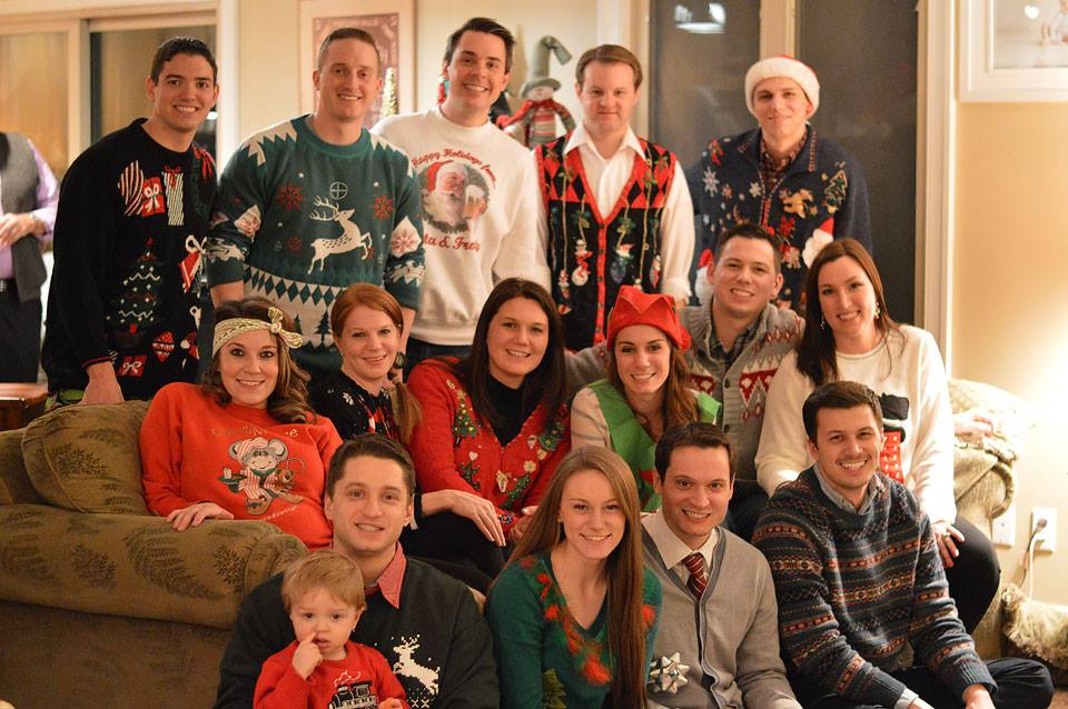 Christmas Eve Ugly Christmas Sweaters-The Samantha Show