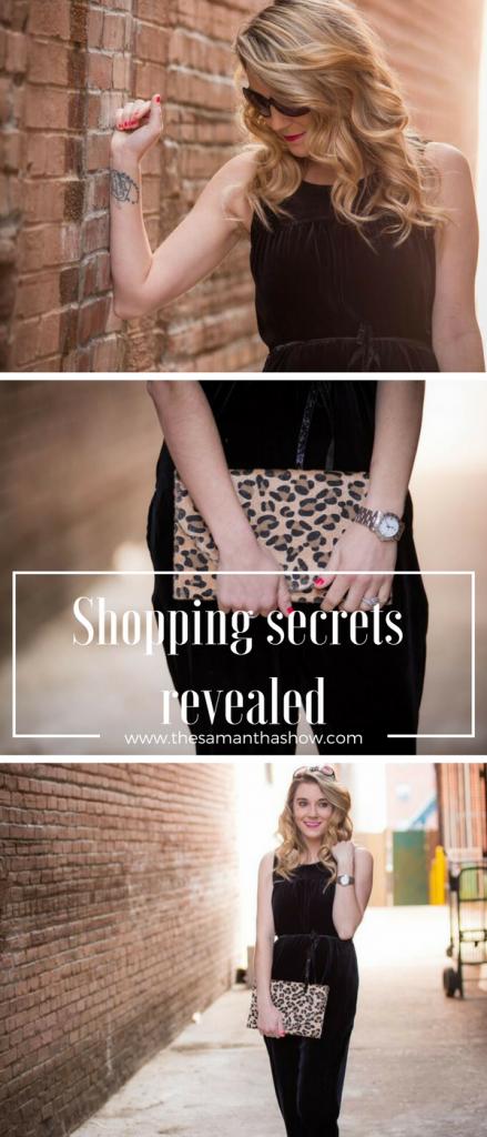Shopping secrets revealed