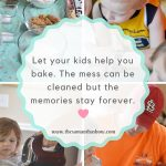 Let your kids help you bake. They may learn more than you think.