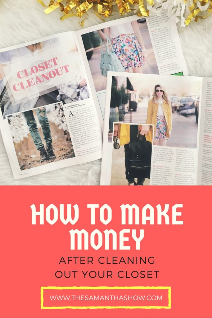 Not sure what to do with all of your old clothes, shoes and bags? Here's how to make money after cleaning out your closet