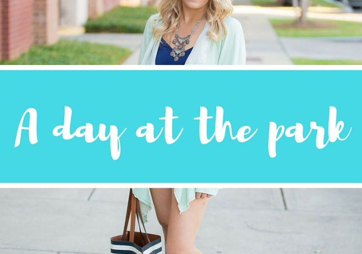 Mommy Style; a day at the park