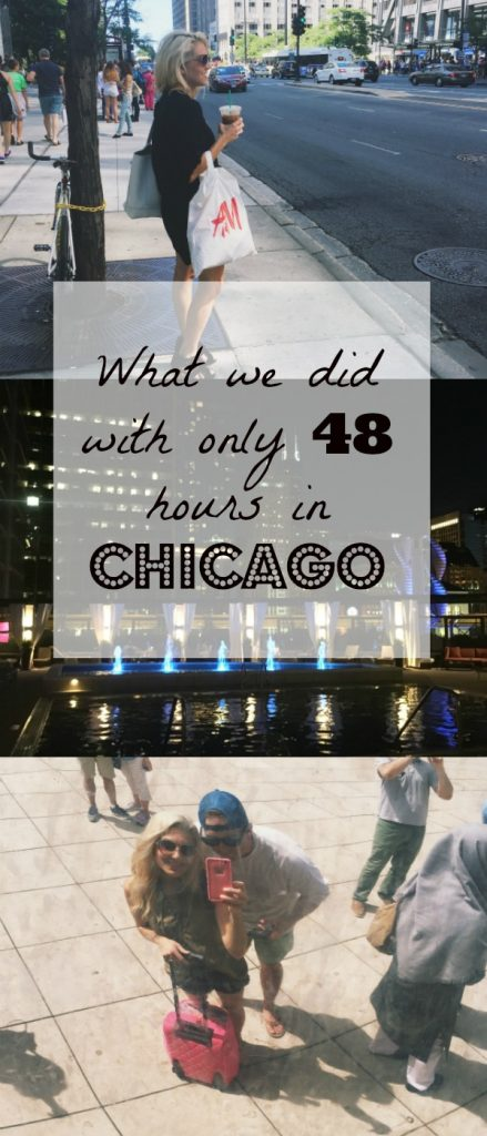 What do you do when you only have 48 hours in Chicago? Navy Pier, Millennium Park and so much more! It can be done! Click to see what we did in such a small amount of time.