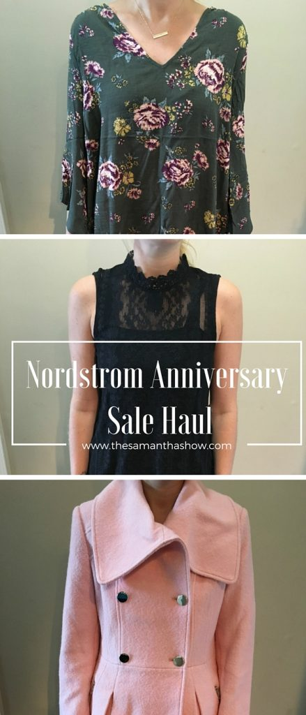 Nordstrom Anniversary Sale Haul; what did I keep? What did I send back? How do they fit? Is the sale worth it? Click through to find out the deets!