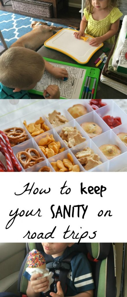 how to keep your sanity on road trips