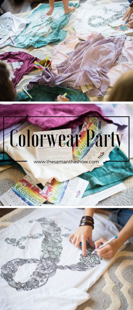 Girls day idea- Colorwear Party