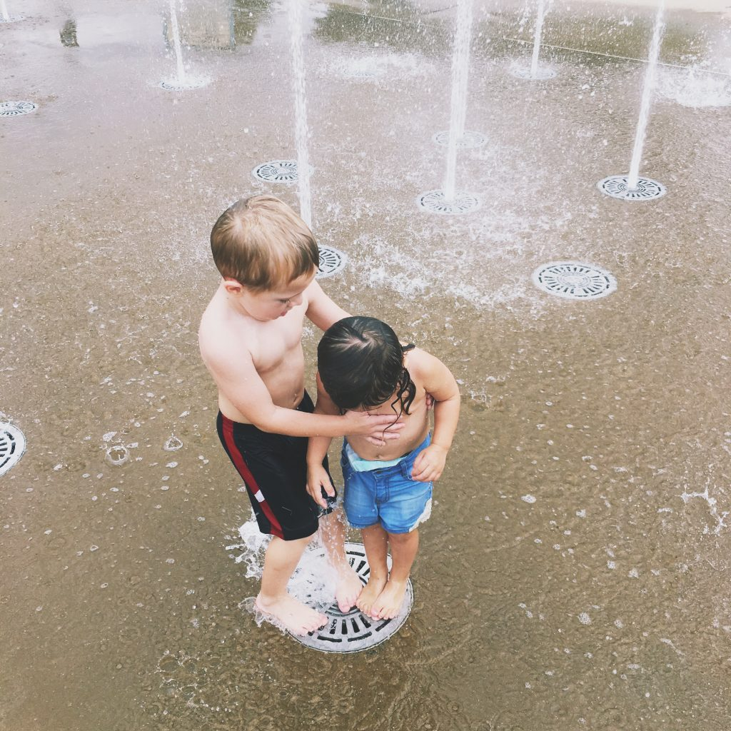 Embrace the mess with your little ones; you can't always prepare for the messes or the craziness but as long as you're prepared for the clean up, let them get as messy as they want! Click through for ways to embrace the mess!