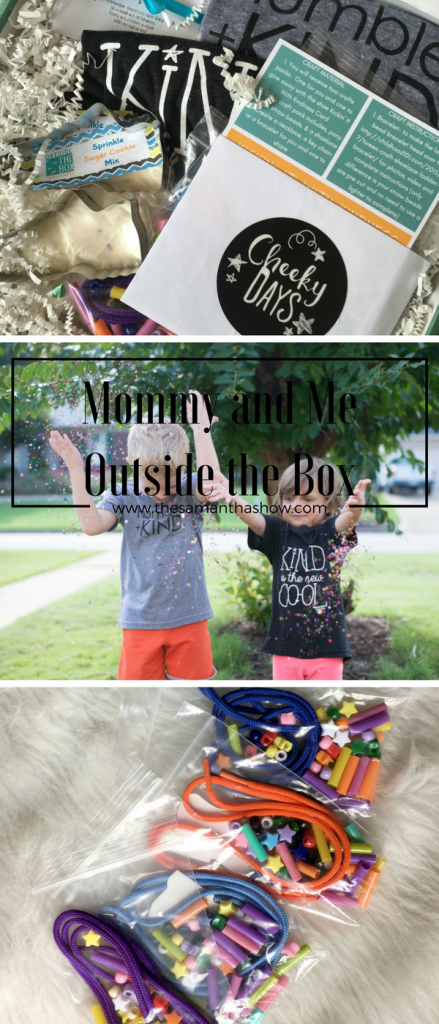 Mommy and Me Monday: Outside The Box