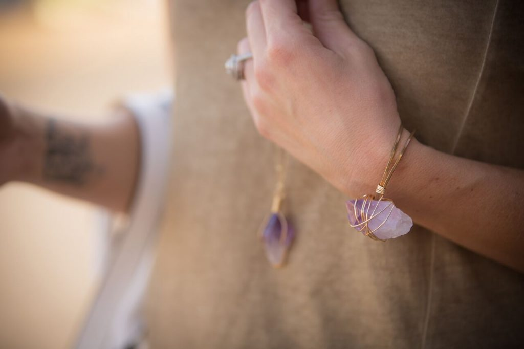 Wired by ALP Jewelry; beautiful handmade jewelry made with semi-precious gemstones, gold plated wire, and more!