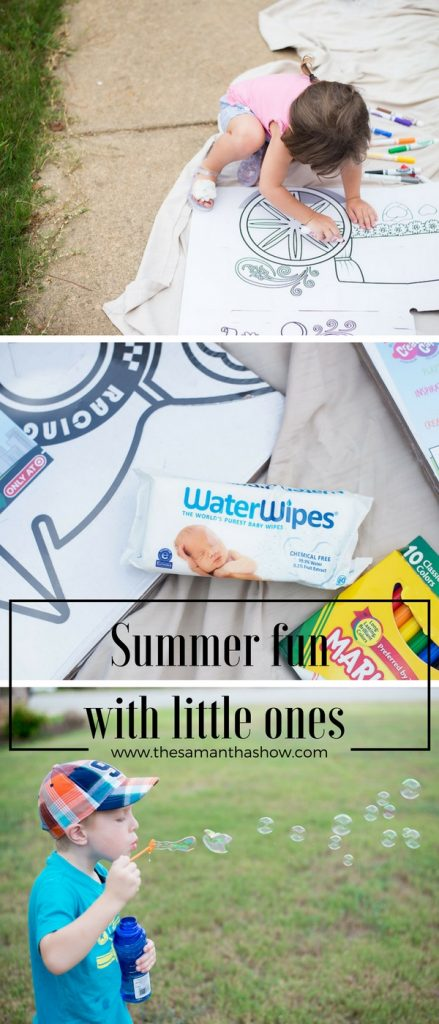 summer fun with little ones