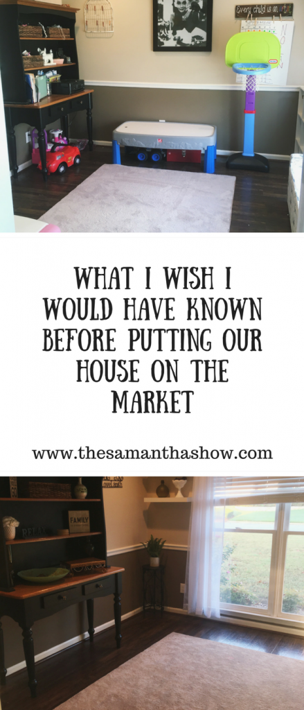 What I wish I would have known before putting our house on the market. Tips, tricks, and feedback from agents would have helped us tremendously!