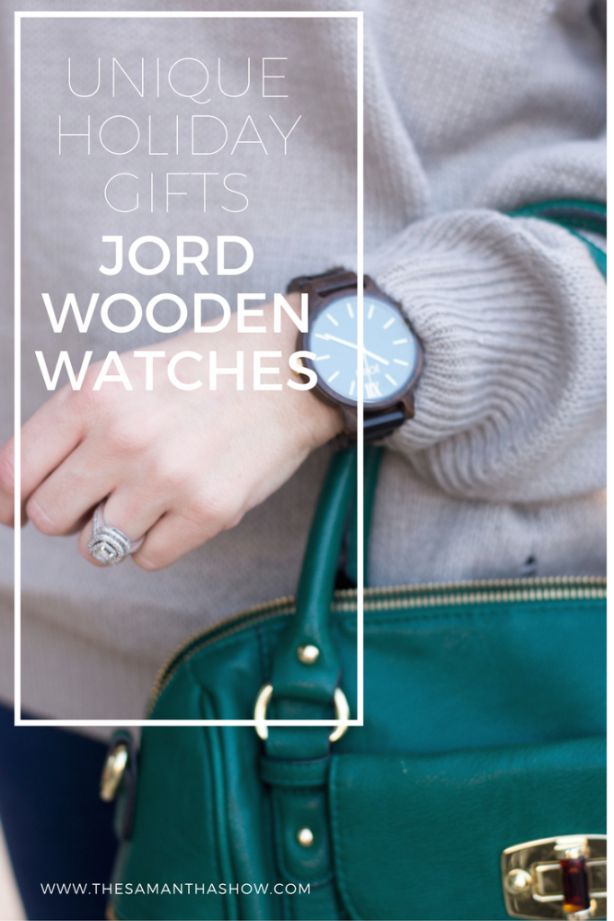 Unique holiday gifts; give the gift of JORD wooden watches for a one-of-a-kind and unique holiday gift. They offer mens watches and womens watches for a timeless accessory.