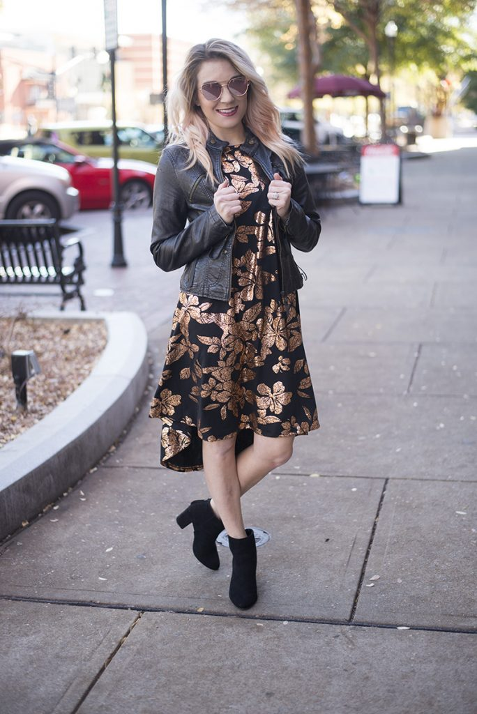 Life and style blogger, The Samantha Show, shares a functional and comfortable NYE outfit inspo, styled to perfection easily.