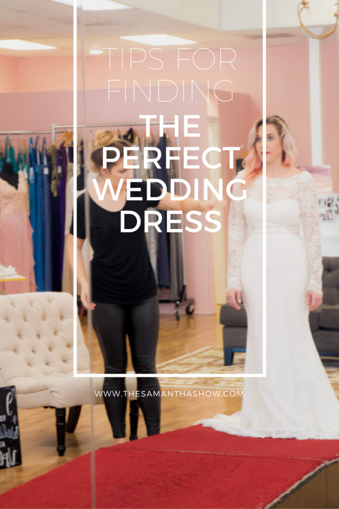 Life and style blogger, the Samantha Show sits down with the owners of Uptown Gowns and am sharing tips for finding the perfect wedding dress!