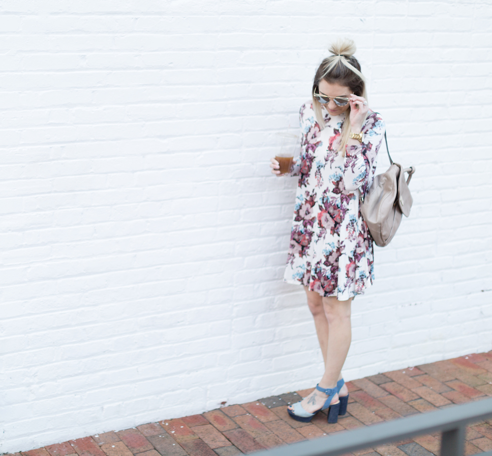 Need to update your wardrobe this spring? Grab a pair of platform spring sandals and pair with a floral dress or top.