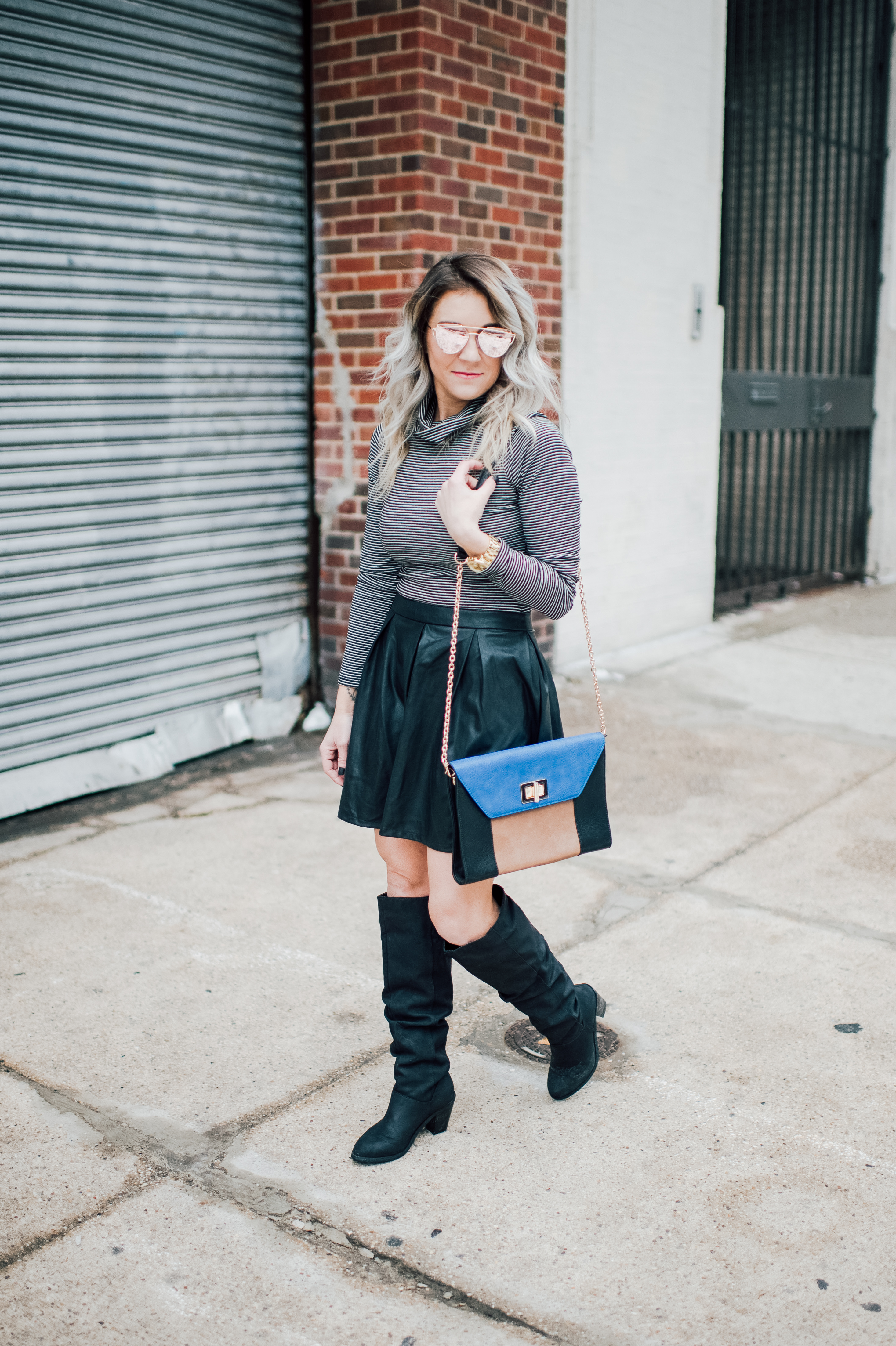 Tips for wearing faux leather in the spring; looking to make the most out of your wardrobe? Itching to wear those leather pieces? Sharing 6 tips for wearing faux leather in the spring!