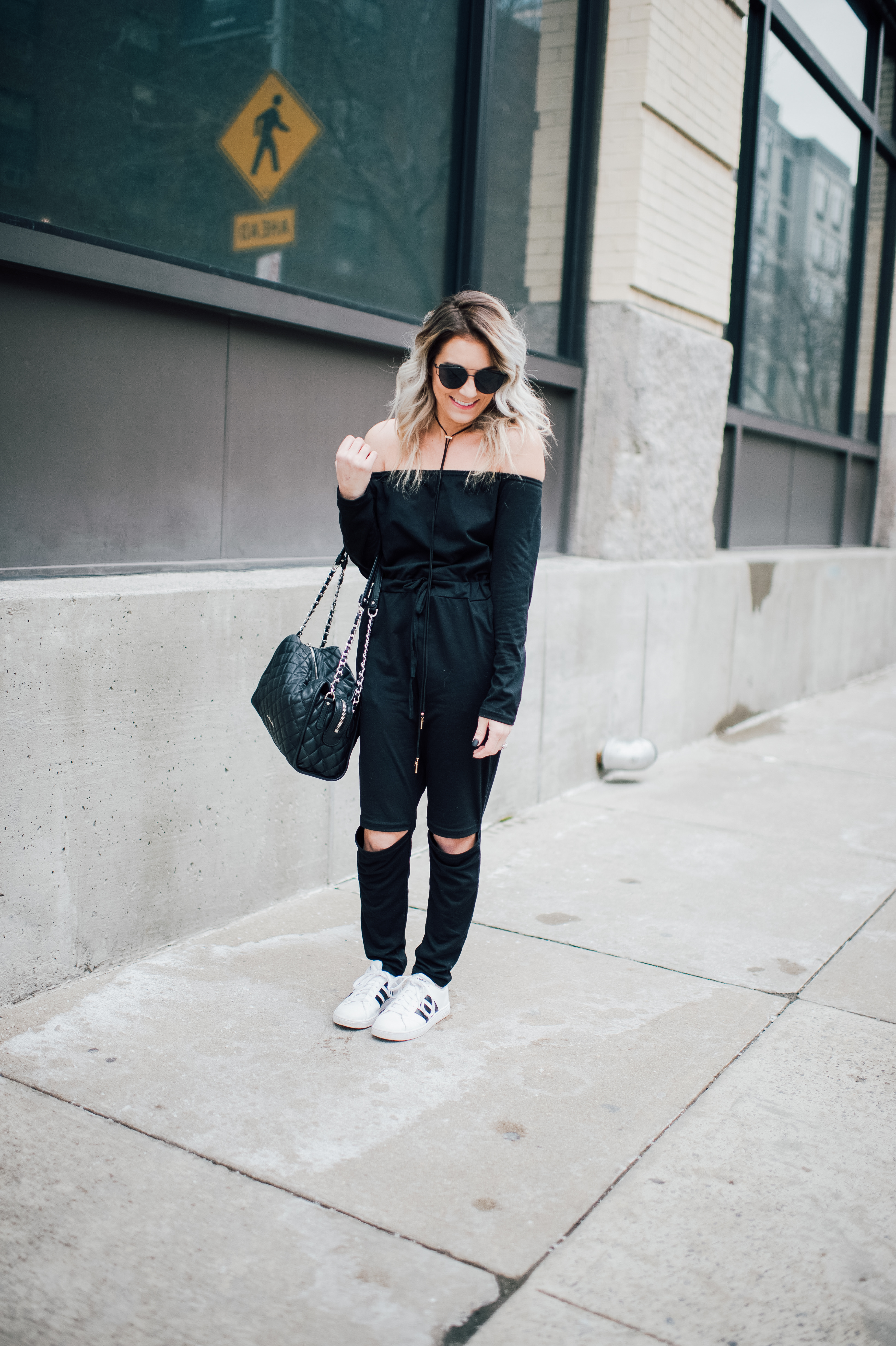Currently crushing: jumpsuits for women. They are the perfect choice for casual weekend wear or a night out with the girls. Day to night look...check!