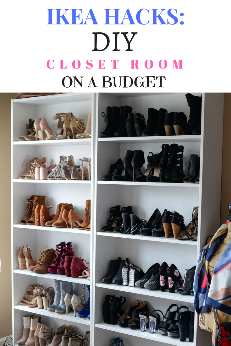 Life and style blogger, The Samantha Show is sharing her favorite IKEA hacks for a DIY closet room on a budget. A space all of your own!