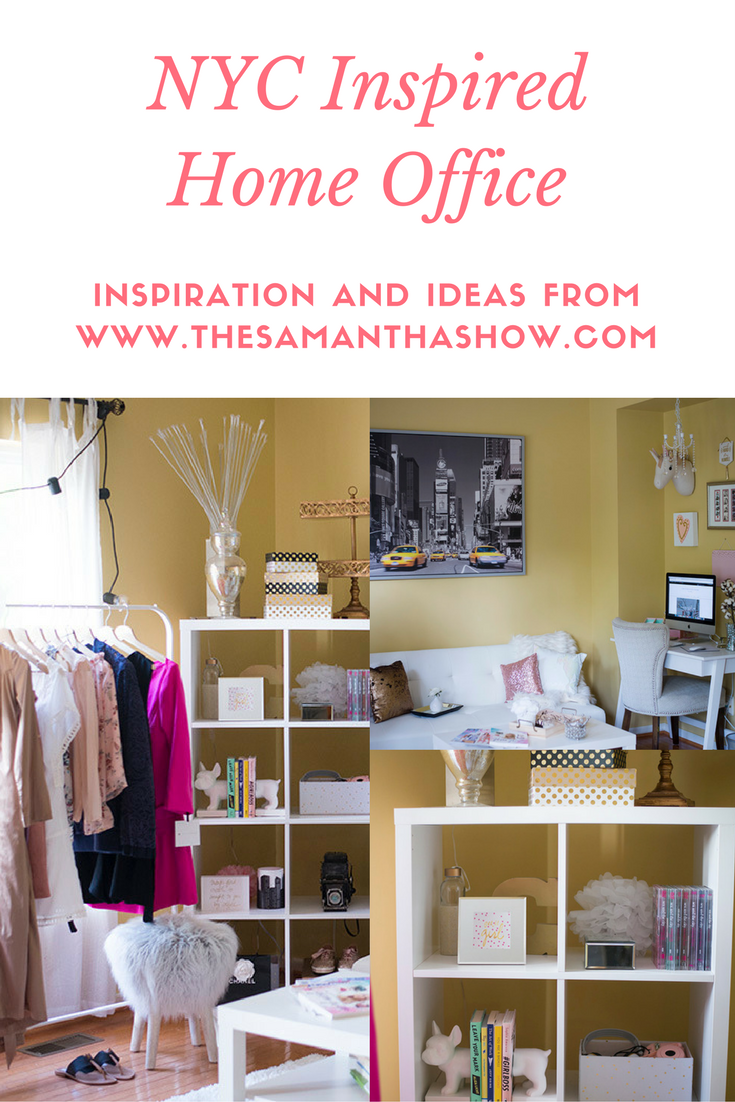 NYC Inspired Home Office