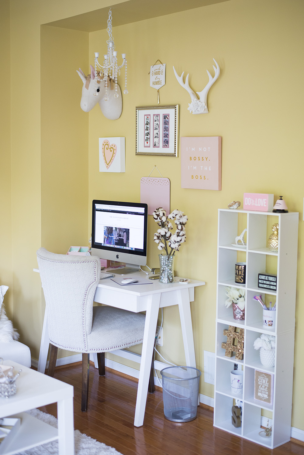 NYC Inspired Home Office - The Samantha Show- A Cleveland Life + ...