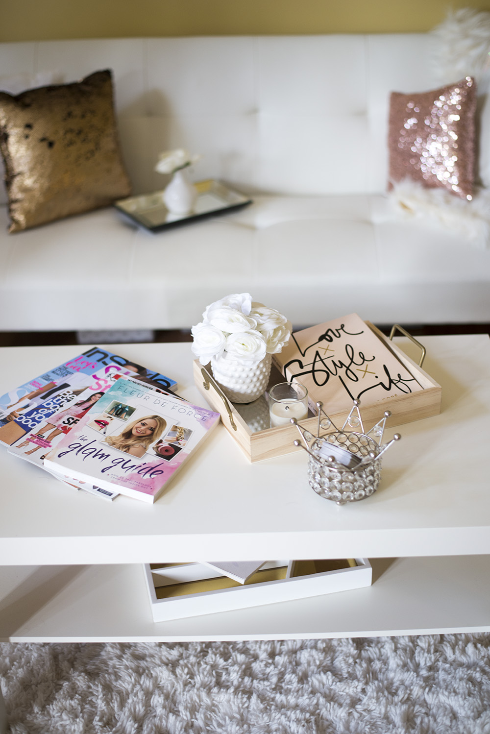 Home office tour featuring products from Target, Ikea, Marshall's, and more!