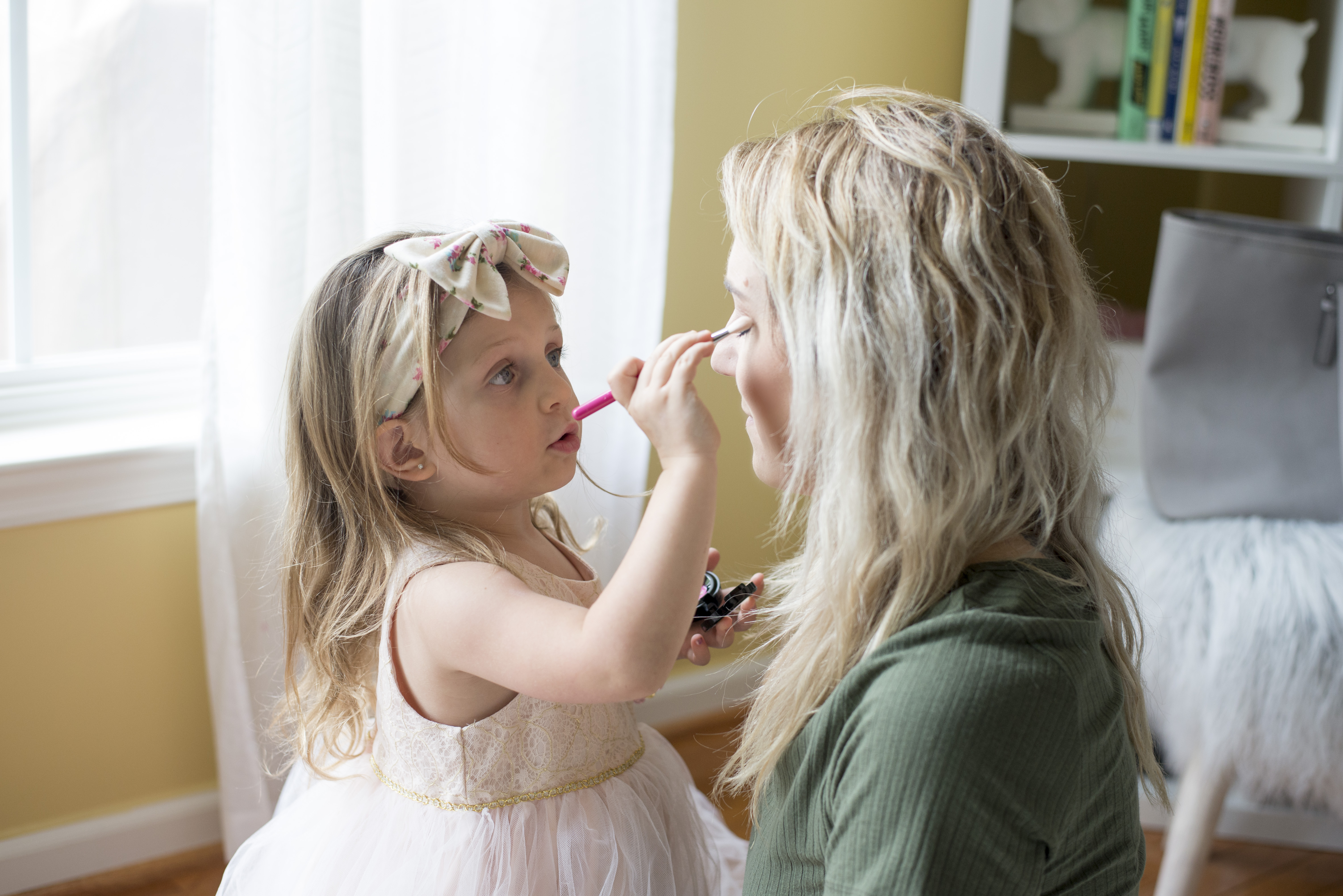 Fun and unique gifts for little girls: Just Like Mommy Cosmetics pretend make-up makes it fun and safe for everyone!