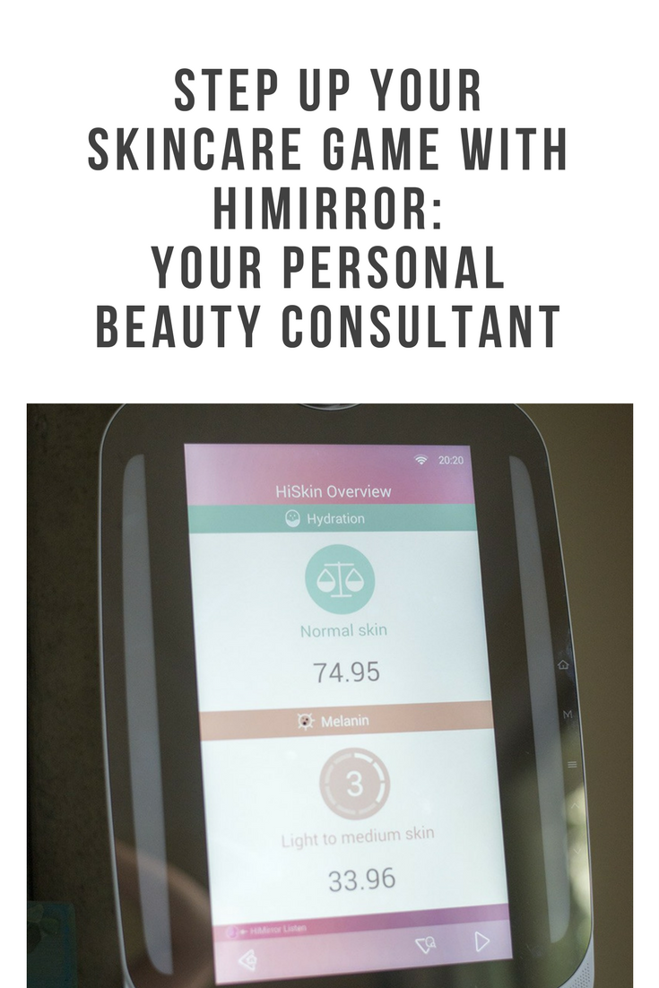 HiMirror: your personal beauty consultant helps you assess your skin's needs, problem areas, recommended products, and much more!