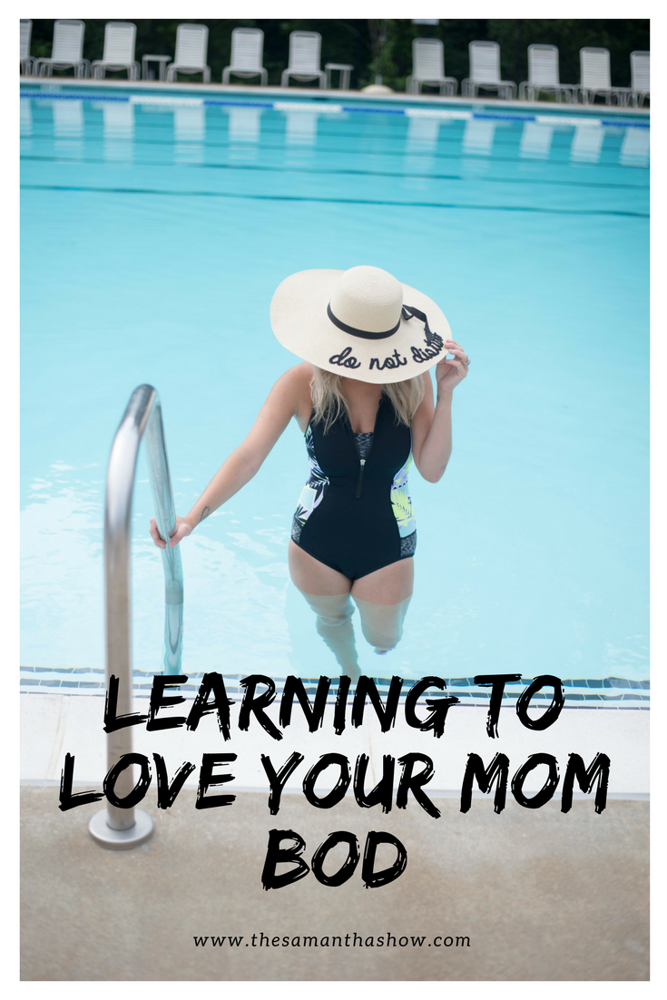 Learning to love your mom bod can be a challenge. But once you accept that things are going to change and you can only do so much, you'll be much happier!