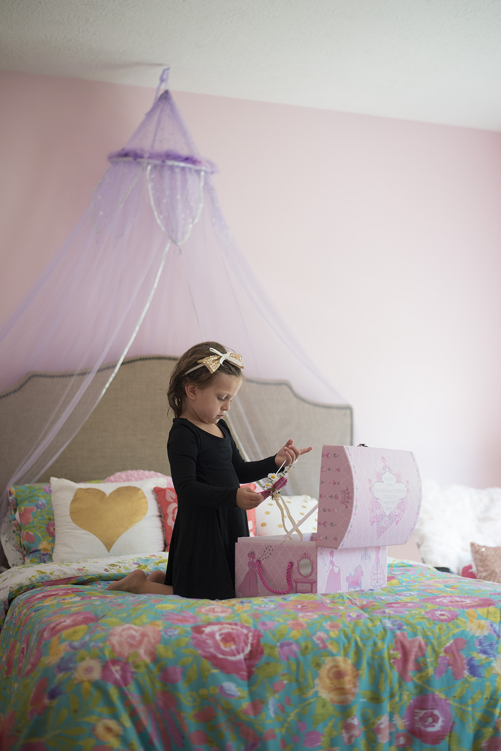Fit for a princess: big girl room tour