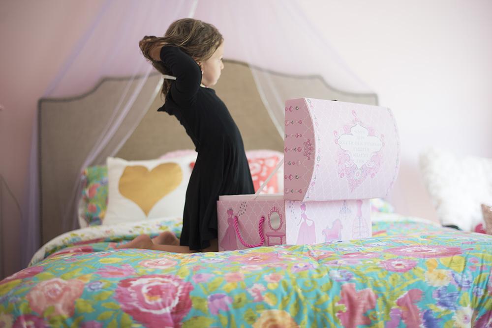 Fit for a princess: big girl room tour