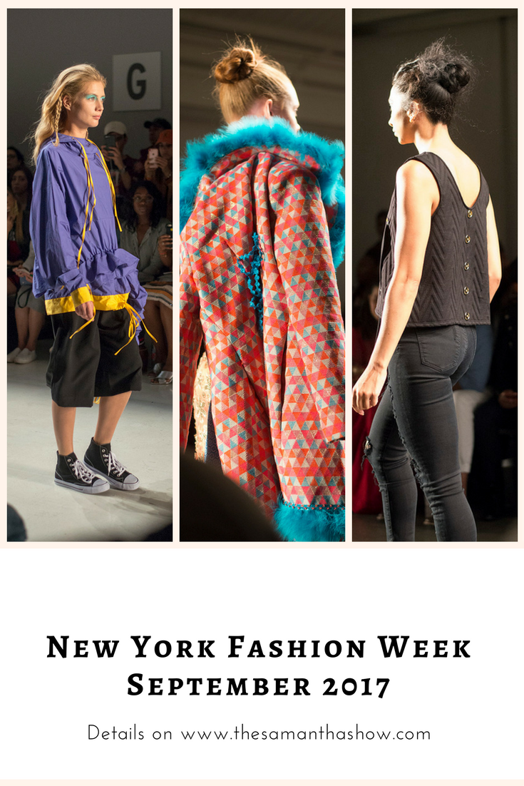New York Fashion Week September 2017 Day 1- Samantha Leibowitz, Jarel Zhang, and more!