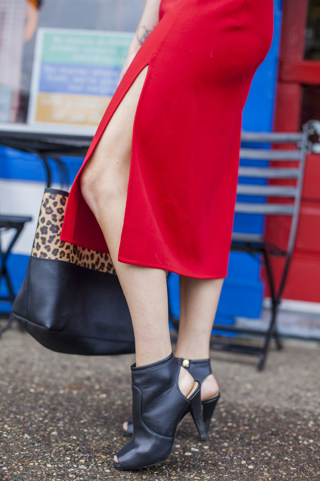 Fall fashion trends: red is RED HOT right now.