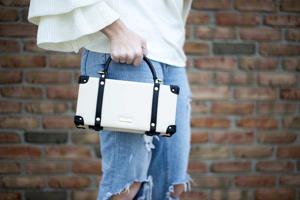 Aldo box bag