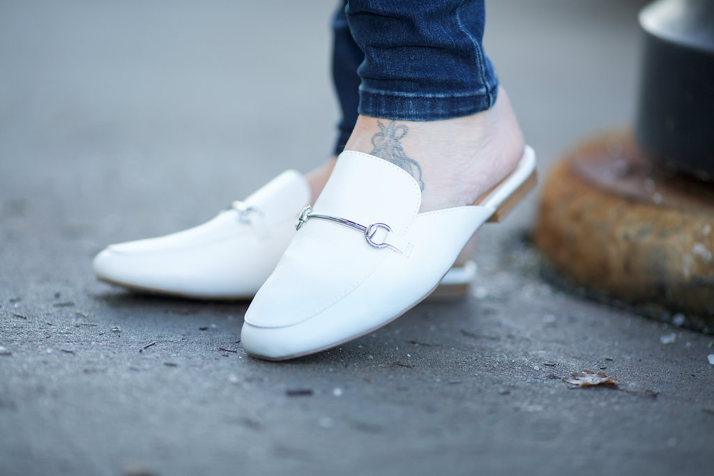 White mules are perfect for spring