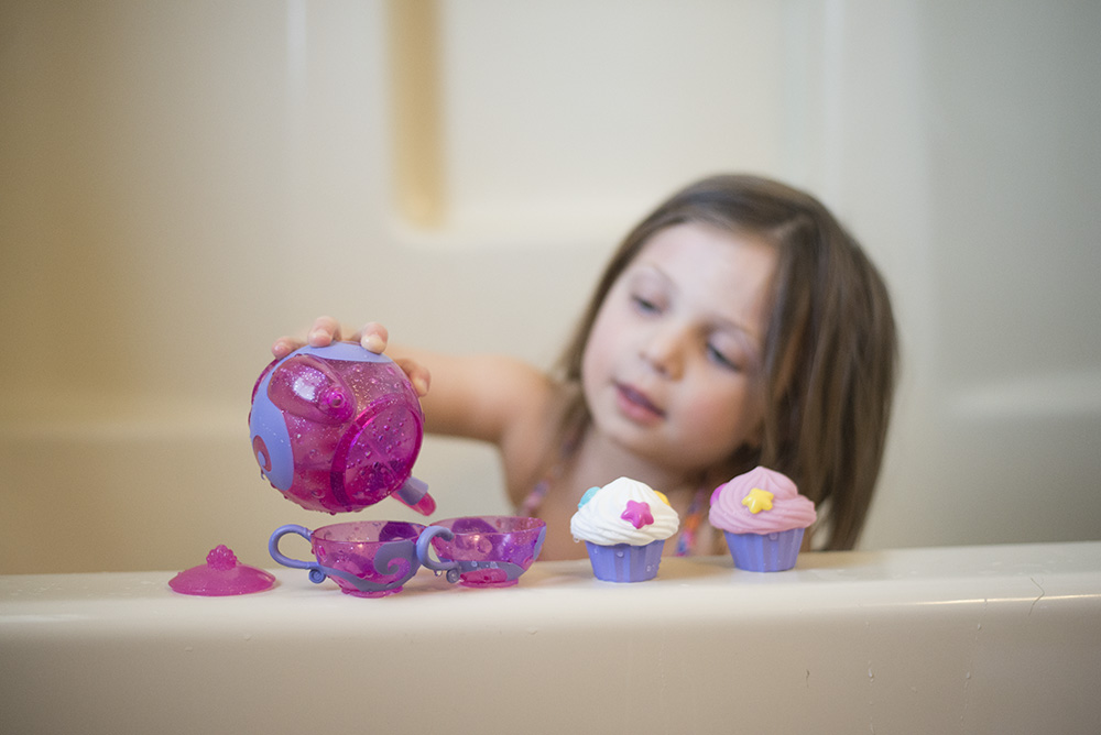 The importance of toddler bath time and why you shouldn't rush it.