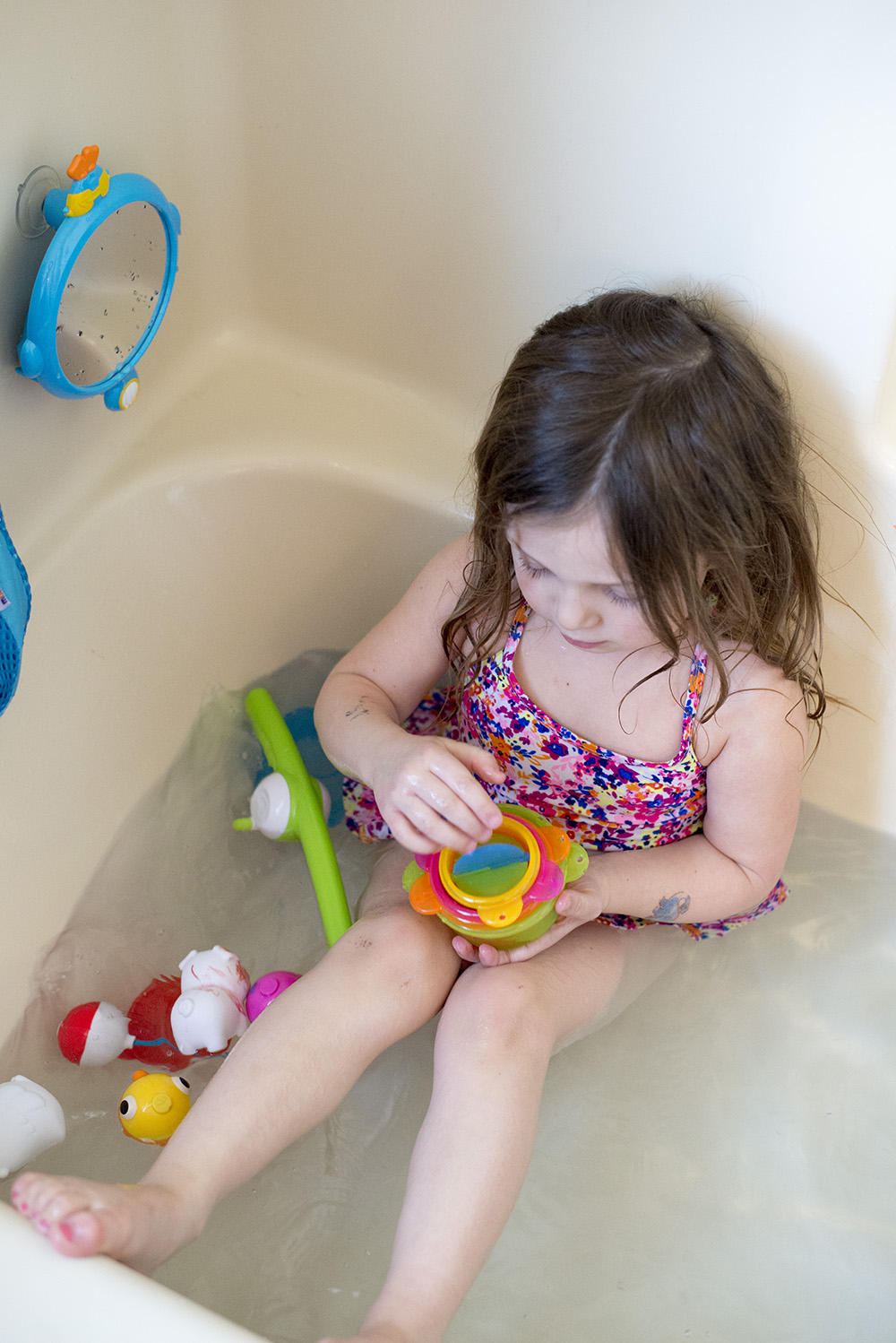 Bath time for toddlers is super important for their development and here's why!