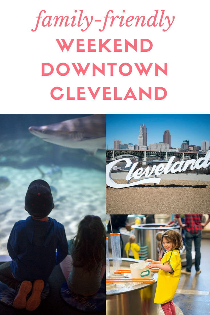 Heading to Cleveland for the weekend? Cleveland blogger The Samantha Show shares her family weekend downtown Cleveland! Including restaurants, attractions, and more!