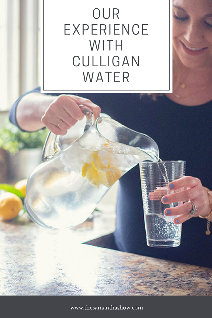Our family's experience with Culligan Water