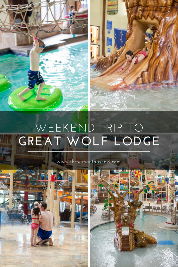 Weekend trip to Great Wolf Lodge with the family. Tips and tricks to having the best stay!